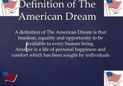 Ppt - Definition Of The American Dream Powerpoint Presentation - Id pertaining to Definition Of American Dream