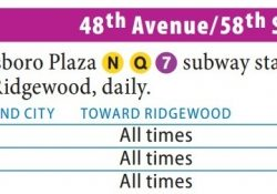 Q39 Bus - 48Th Av - 58Th St - Forest Av in Q39 Bus Schedule