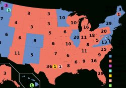 United States Electoral College - Wikipedia pertaining to How Many Electoral Votes Does Alabama Have