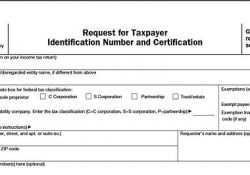 W2S, W4S, And W9S – Factsoffinancing in W-9 Form Definition